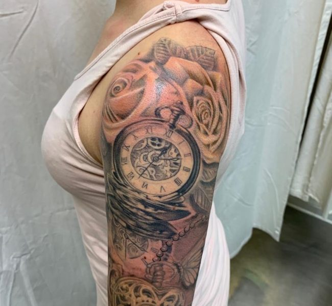 Armsleeve Tattoo - Tattoo by Daniel Pavlik